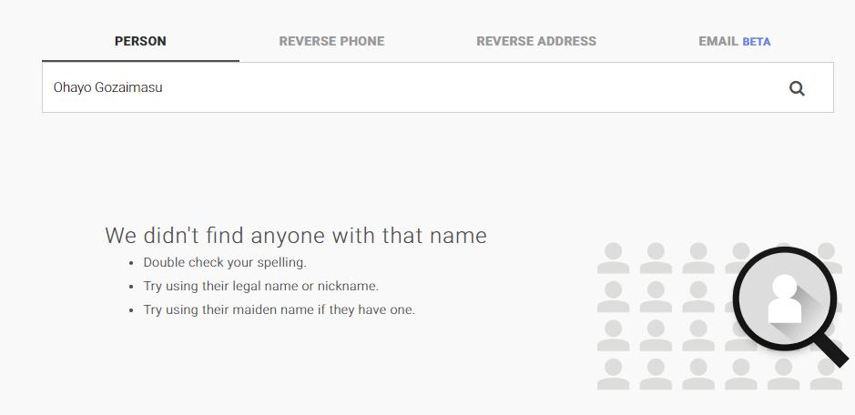 telephone listing by address
